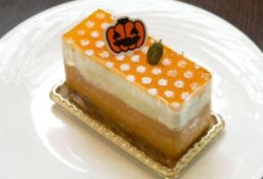 かぼちゃとチーズのムース