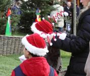 クリスマスの帽子
