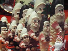 サンタのお菓子