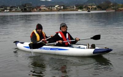 西の湖カヤック