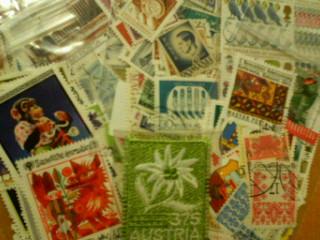 外国の切手達
