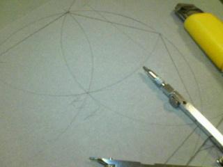六角形の製図