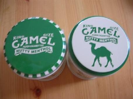 CAMEL缶のフタ