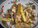 蕗と姫筍の煮物