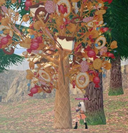 お菓子の木1