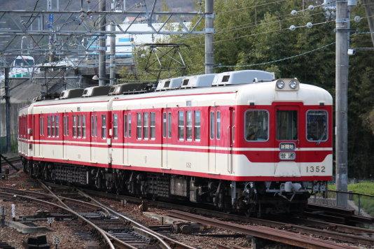 神戸の電車。