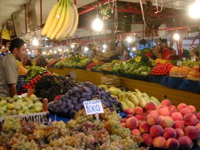 シヴァスの市場
