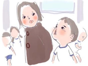 母と少年1