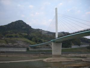 緑地 橋と池