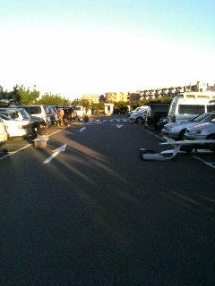 鵠沼海岸駐車場