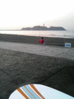 朝一の江ノ島