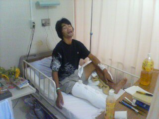そして落ちる 入院