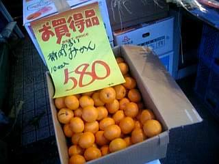 みかん580円