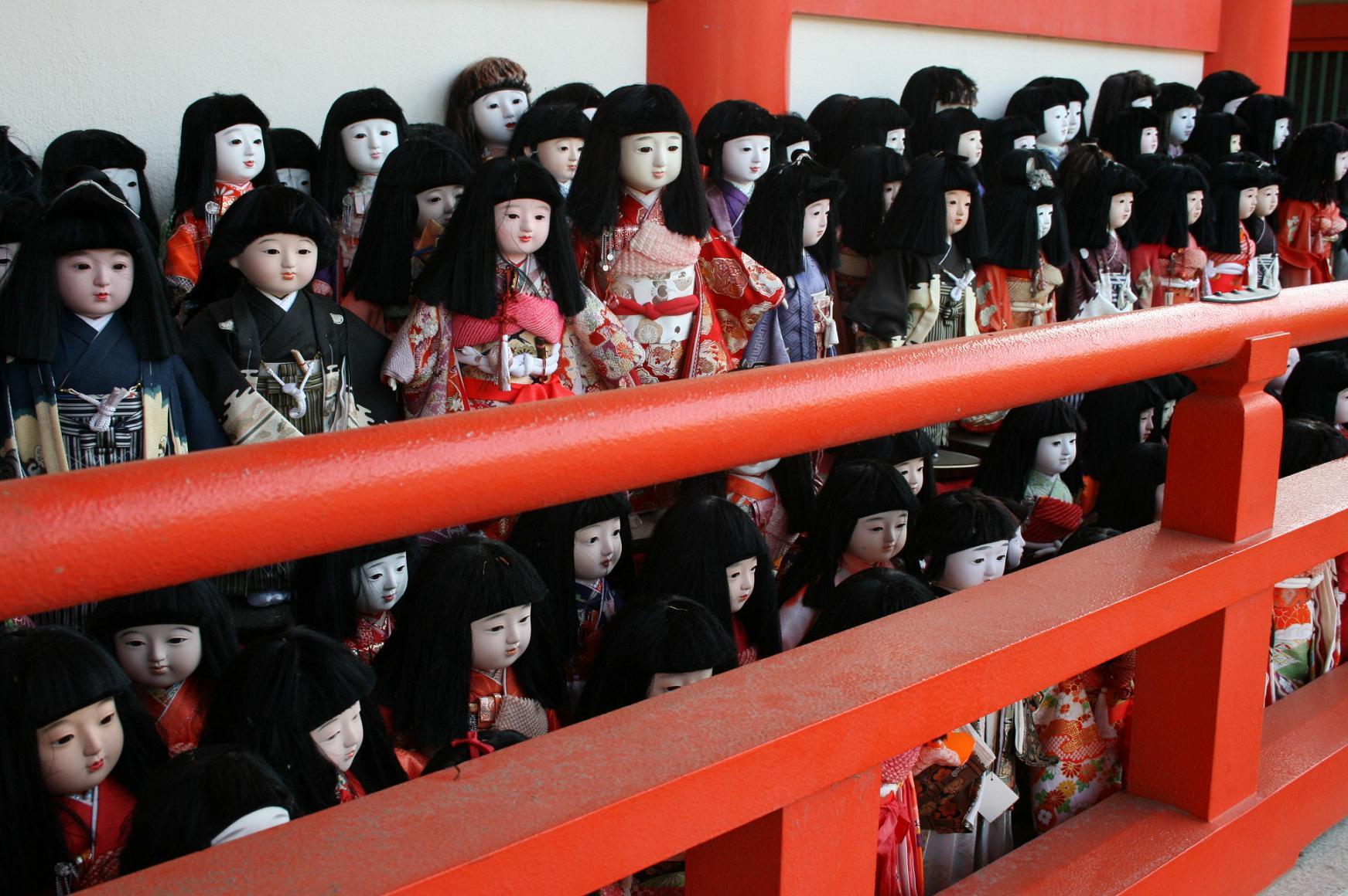 淡島神社人形