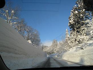 2008年02月雪壁