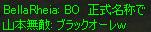 BOの正式名称
