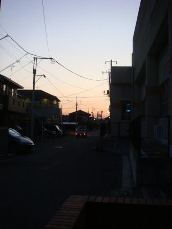 20080122朝日の出