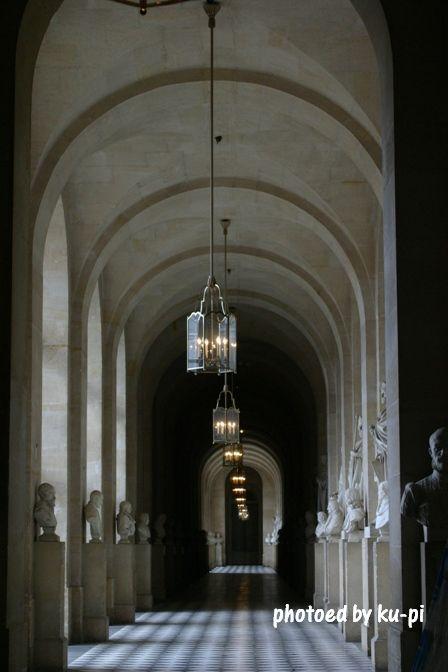 ベルサイユ沈黙の通路