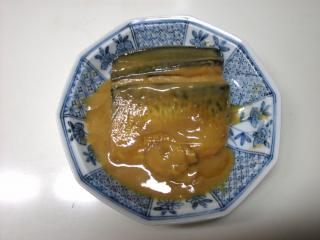 鯖の味噌煮 白味噌