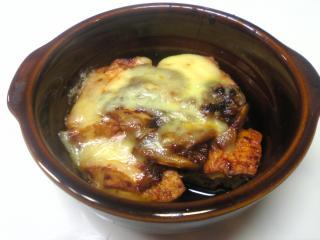 キムチ豆腐チーズ焼き