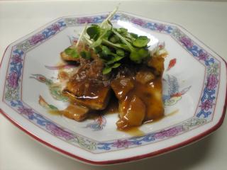 豆腐ステーキ カレー風味