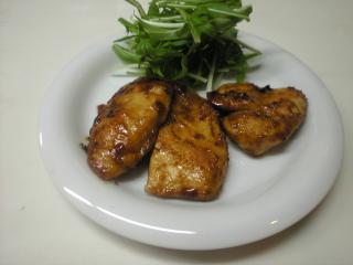 カレー照り焼きチキン