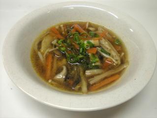いろいろきのこのおすましスープ