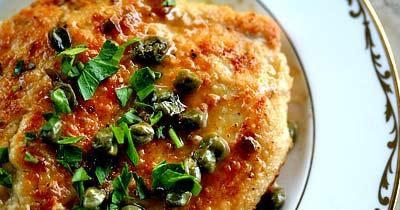 chicken-piccata チキンピカタ