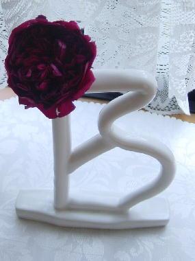 叔父作の花器