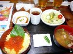 ミニいくら丼ランチ ¥880