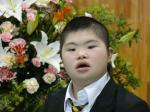 静岡県立西部特別支援学校の高等部の入学式にて