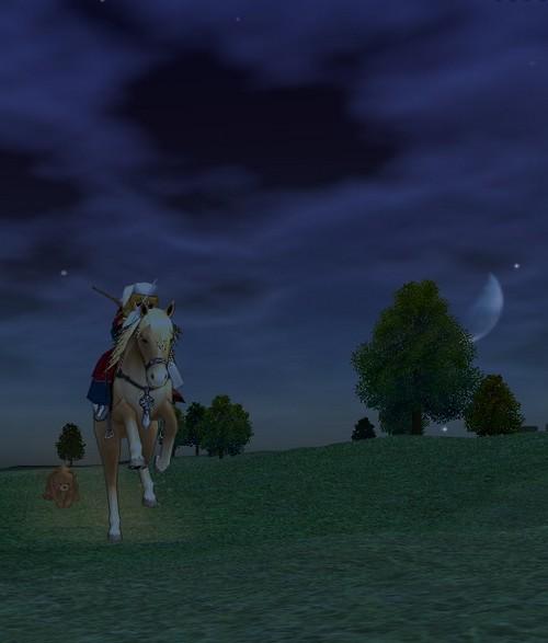 mabinogi_2006_06_30 馬と月とクマ
