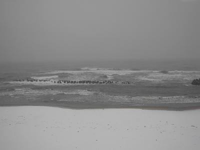 日本海大荒れ