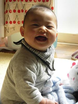 赤ちゃんスマイル