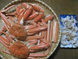 蟹がいっぱい!