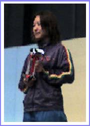 横西選手表彰式