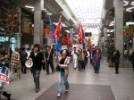 自治労のデモ