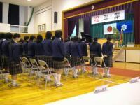 泉中08年卒業式1