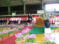 08.3.24泉川小学校の卒業式の様子