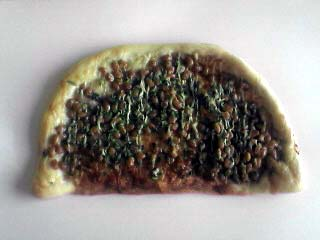 納豆ピザパン