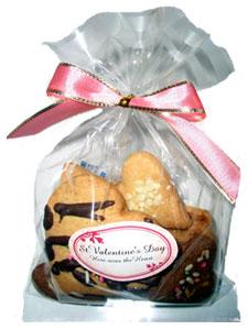 バレンタインクッキー(袋・小) 300円