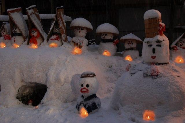 雪ダルマ2