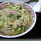 野菜たっぷりちゃんぽんうどん←長いYっ