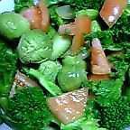 芽キャベツと菜の花のサラダ~~~♪