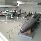 本物の0戦と潜水艦