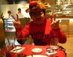 トナカイ君と一緒に食べました