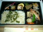 鮫島印の幕の内弁当1000円(予約済価格)