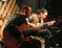 飛び入りのギタリストさんは神戸からお越しでした