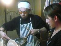 はい!焼d松田'GORI'広士さん特製焼き飯、出来上がり!