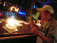 スタッフのさっちゃんからのバースデーケーキが出てきました。